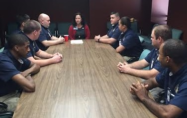 Meeting with Georgia Piedmont Technical College Law Enforcement Academy